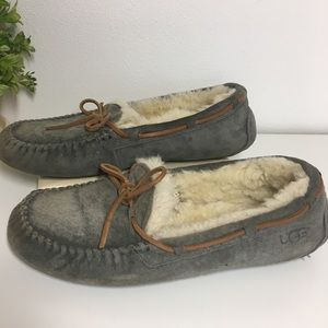 Ugg Moccasins Slippers Gray size 8